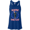 Raise The Cat Bella+Canvas Flowy Racerback Tank - Generation T