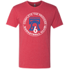 Red Philly Hoops Complete The Process Men's Triblend T-Shirt