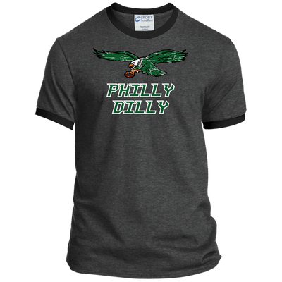 Philly Dilly Ringer Tee Shirt - Generation T