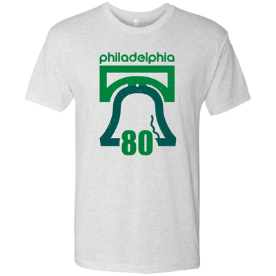 Retro 1980 Birds Inspired Men's Triblend T-Shirt - Generation T