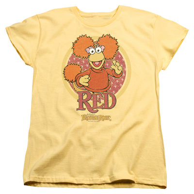 Womens Fraggle Rock/Red Circle Shirt - Generation T