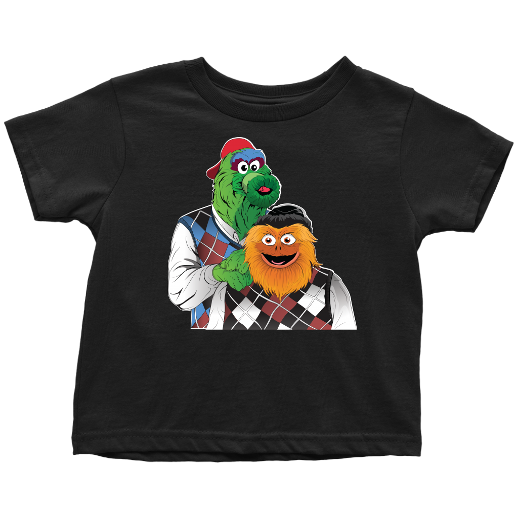 Mascot Brothers Toddler T-Shirt