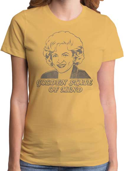 The Golden Girls State of Mind Juniors T-Shirt