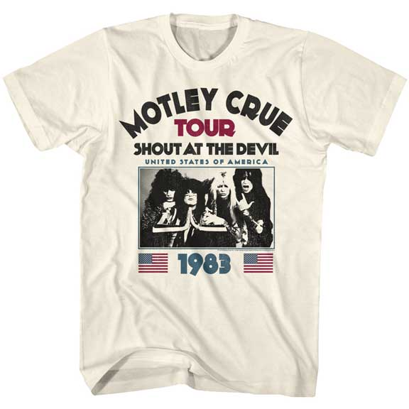 Mens Motley Crue Shout at The Devil 83 T-Shirt