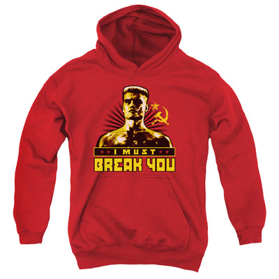 Rocky I Must Break You Adult Pullover Hoodie