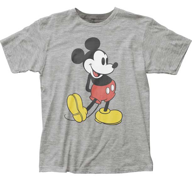 Retro Mickey Mouse Pose Adult T-Shirt
