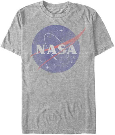 NASA Logo Mens Heathered T-Shirt - Generation T