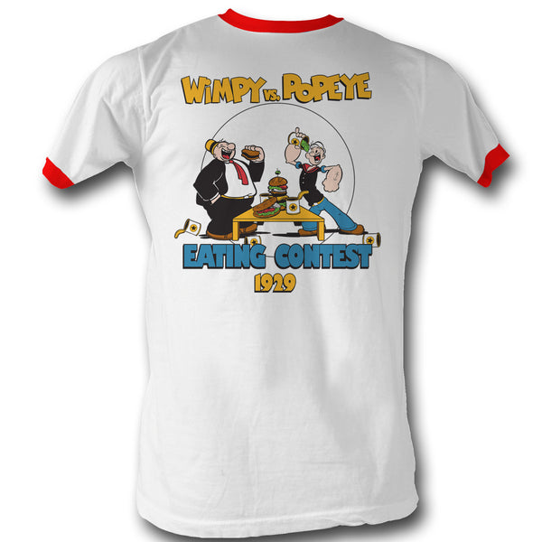 Popeye Eating Contest Adult Tee - Generation T