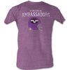 Mens WFL Virginia Ambassadors Tee Shirt - Generation T