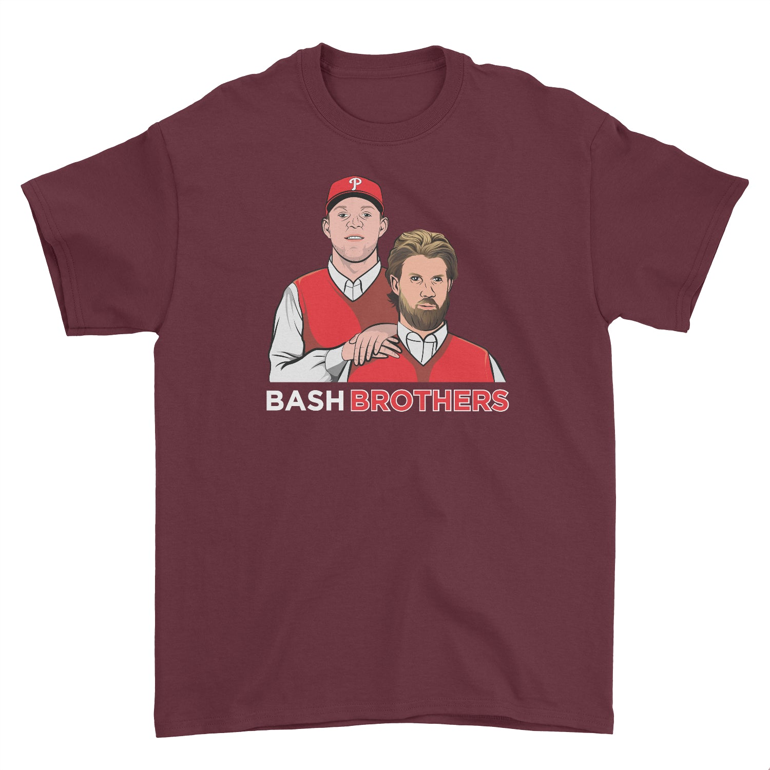 Philly Baseball Bash Brothers Inspired Cotton T-Shirt