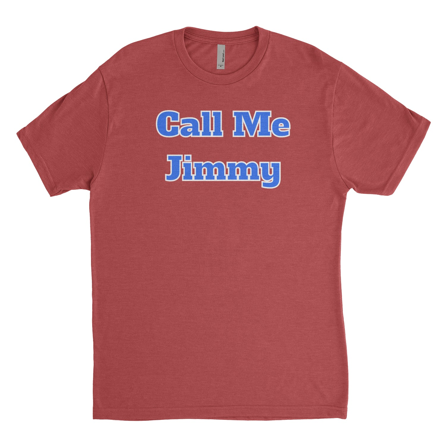 Jimmy Butler Inspired Call Me Jimmy Red Men's Triblend T-Shirt