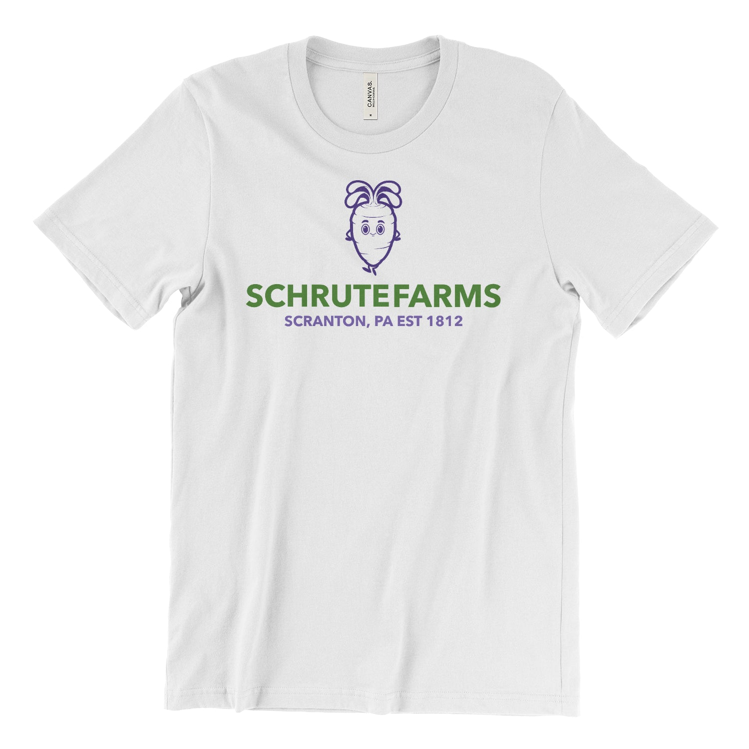 Schrute Farms Unisex Short-Sleeve T-Shirt