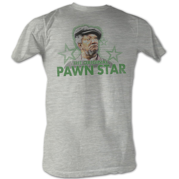 Sanford and Son Original Pawn Star T-Shirt in Grey