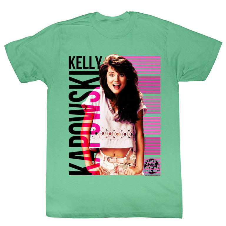 Saved by the Bell Kapowskiing Mens Tee Shirt - Generation T