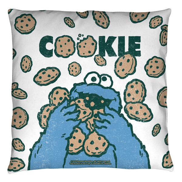 Sesame Street Cookie Monster Cookie Crumble Throw Pillow - Generation T