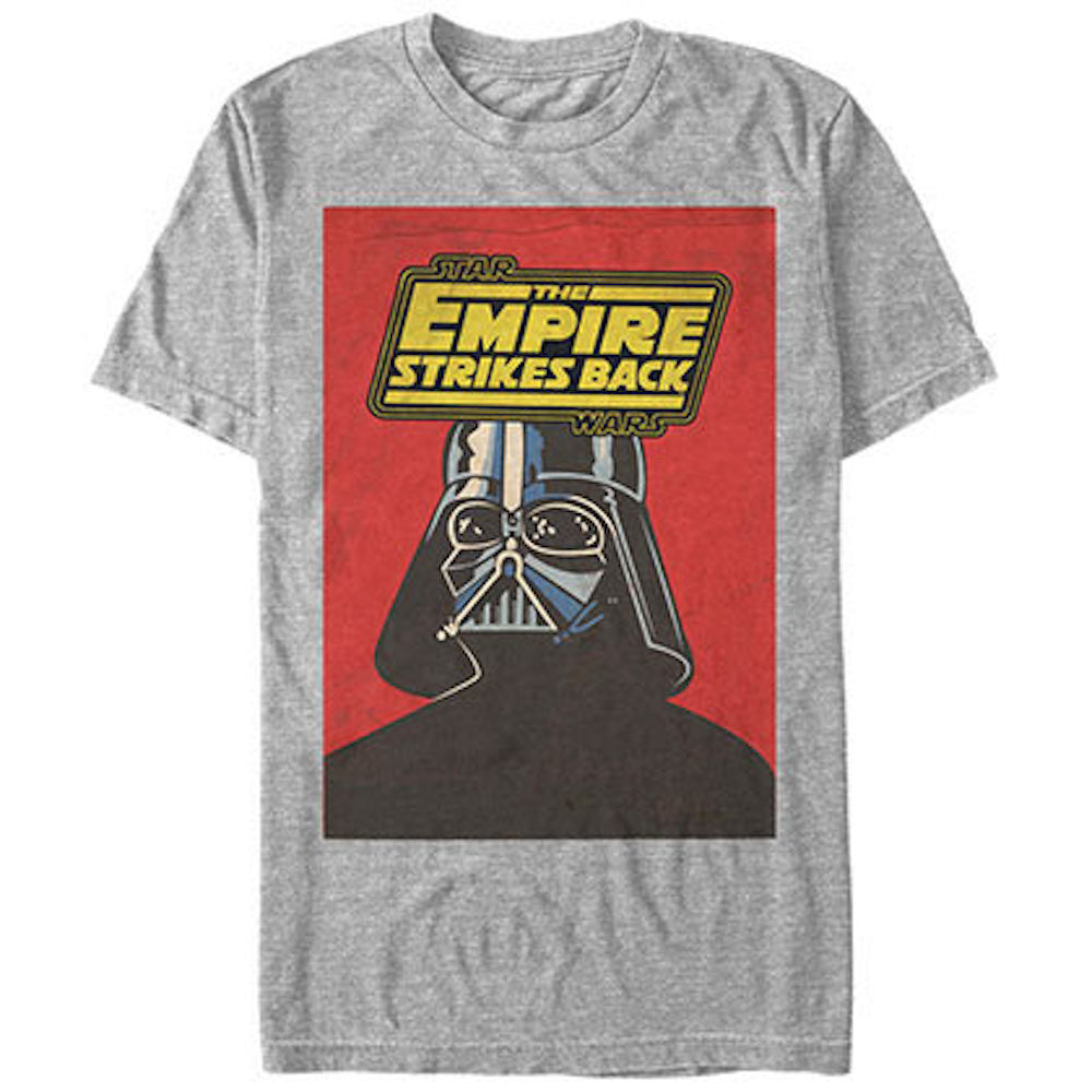 Star Wars Darth Vader Blue Death Card Mens T-Shirt - Generation T