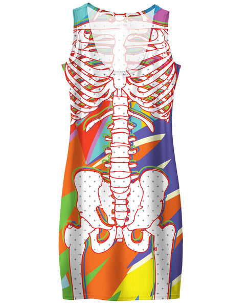 Skeleton Simple Dress