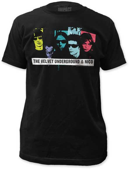 Velvet Underground & Nico Fitted Mens Jersey Tee Shirt - Generation T