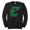 Old School Birds Big E Youth Crewneck Sweatshirt