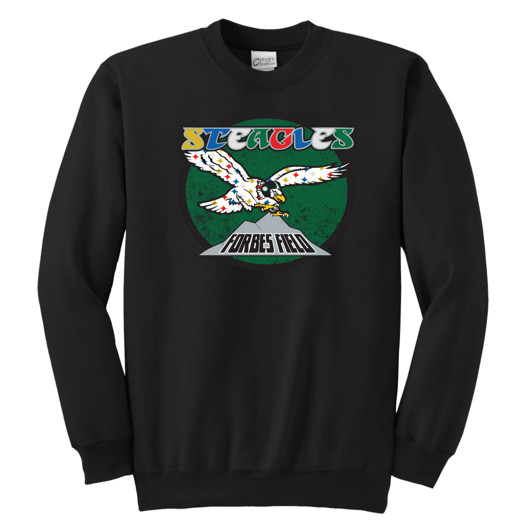 Retro Steagles Youth Crewneck Sweatshirt