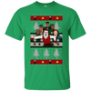 A Football Christmas Adult Cotton T-Shirt - Generation T