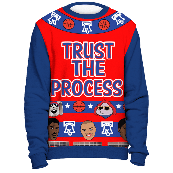 A Trust the Process Christmas Sweatshirt - Generation T