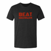 Retro Beat Michigan Adult Triblend Short Sleeve Tee - Generation T