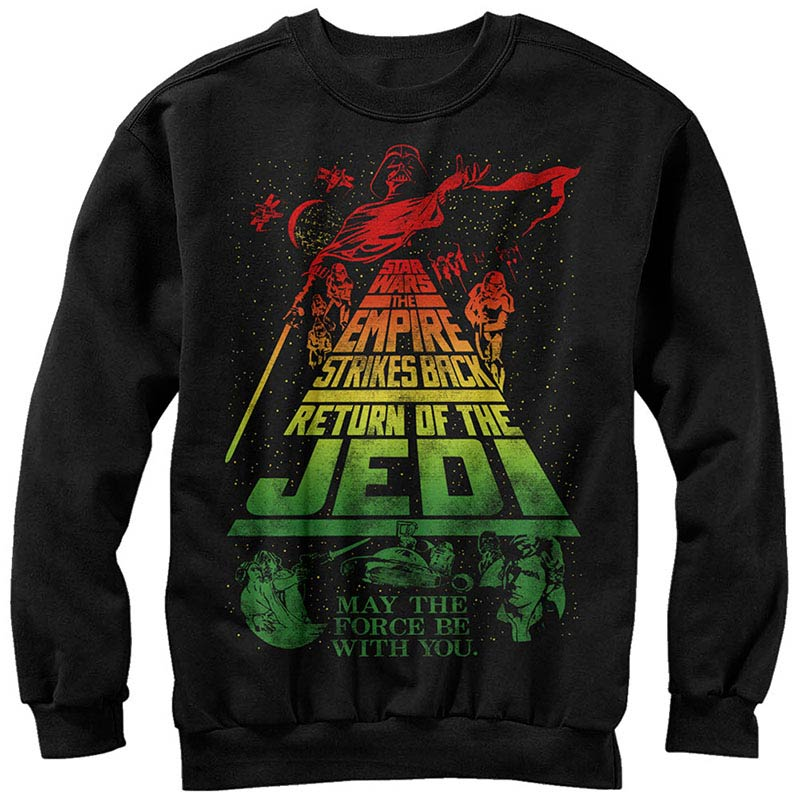 Star Wars Rasta Jedi Long Sleeve T-Shirt - Generation T