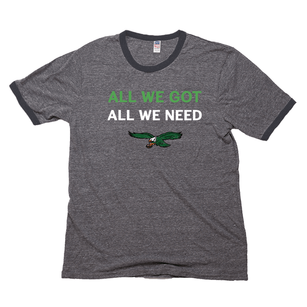 All We Got Unisex Triblend Retro Ringer Tee Shirt - Generation T