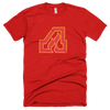 Retro Atlanta Flames T-Shirt in Red - Generation T