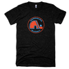Vintage Quebec Nordiques Circle Tri Blend Tee Shirt - Generation T