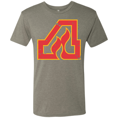 Atlanta Flames Inspired Men's Tri-Blend Tee - Generation T