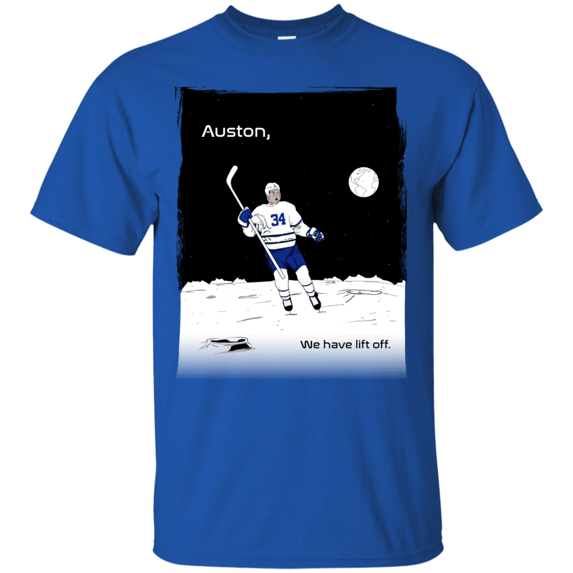 Auston Leafs Inspired Ultra Cotton T-Shirt - Generation T
