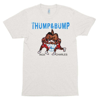 Barkley Mahorn Thump and Bump Inspired Unisex Tri Blend Track T-Shirt - Generation T