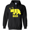 Bear Plus Deer Equals Beer Pullover Hoodie - Generation T