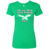 Big Mean Green Machine Ladies Triblend T-Shirt - Generation T