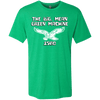 Big Mean Green Machine Men's Tri-Blend Tee Shirt - Generation T
