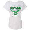 Big Mean Green Machine Retro Ladies Triblend Dolman Sleeve - Generation T