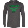 Big Mean Green Machine Retro LS T-Shirt Hoodie - Generation T