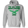 Big Mean Green Machine Retro Pullover Hoodie - Generation T