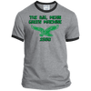 Big Mean Green Machine Retro Ringer Tee - Generation T