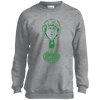 Boston Hoops Bobblehead Youth Crewneck Sweatshirt - Generation T