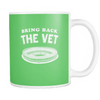 Bring Back The Vet Kelly Green Coffee Mug - Generation T