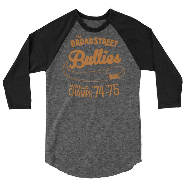 Broad Street Bullies Retro Raglan Shirt - Generation T