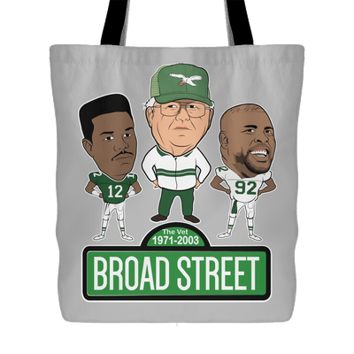 Broad Street Football Tote Bag - Generation T