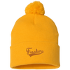 Brockmire Frackers Inspired Pom Pom Knit Cap - Generation T