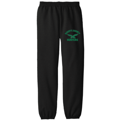 Buddy's Bounty Hunters Embroidered Youth Fleece Pants - Generation T