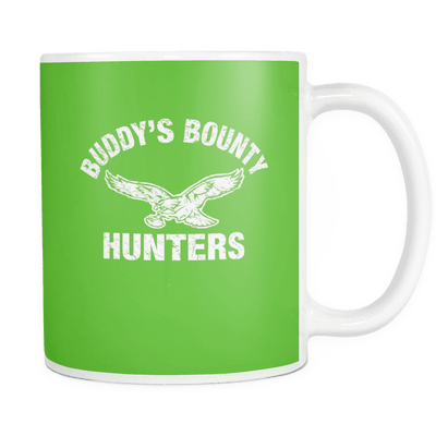 Buddy's Bounty Hunters Kelly Green Mug - Generation T