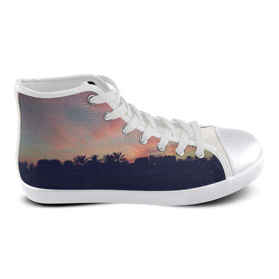 Cali Nights Women's High Top Canvas Shoes - Generation T