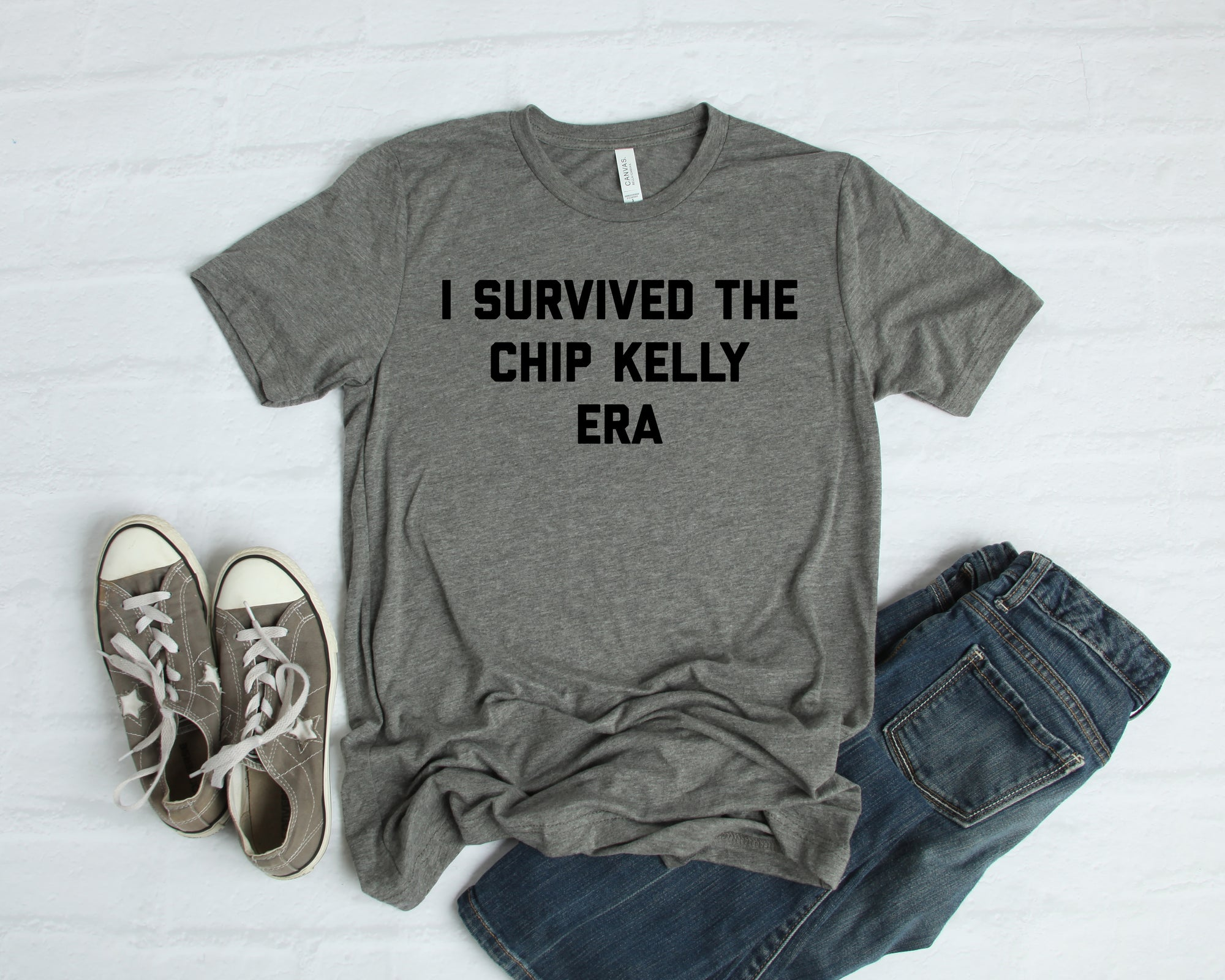 I Survived The Chip Kelly Era Men's Triblend T-Shirt